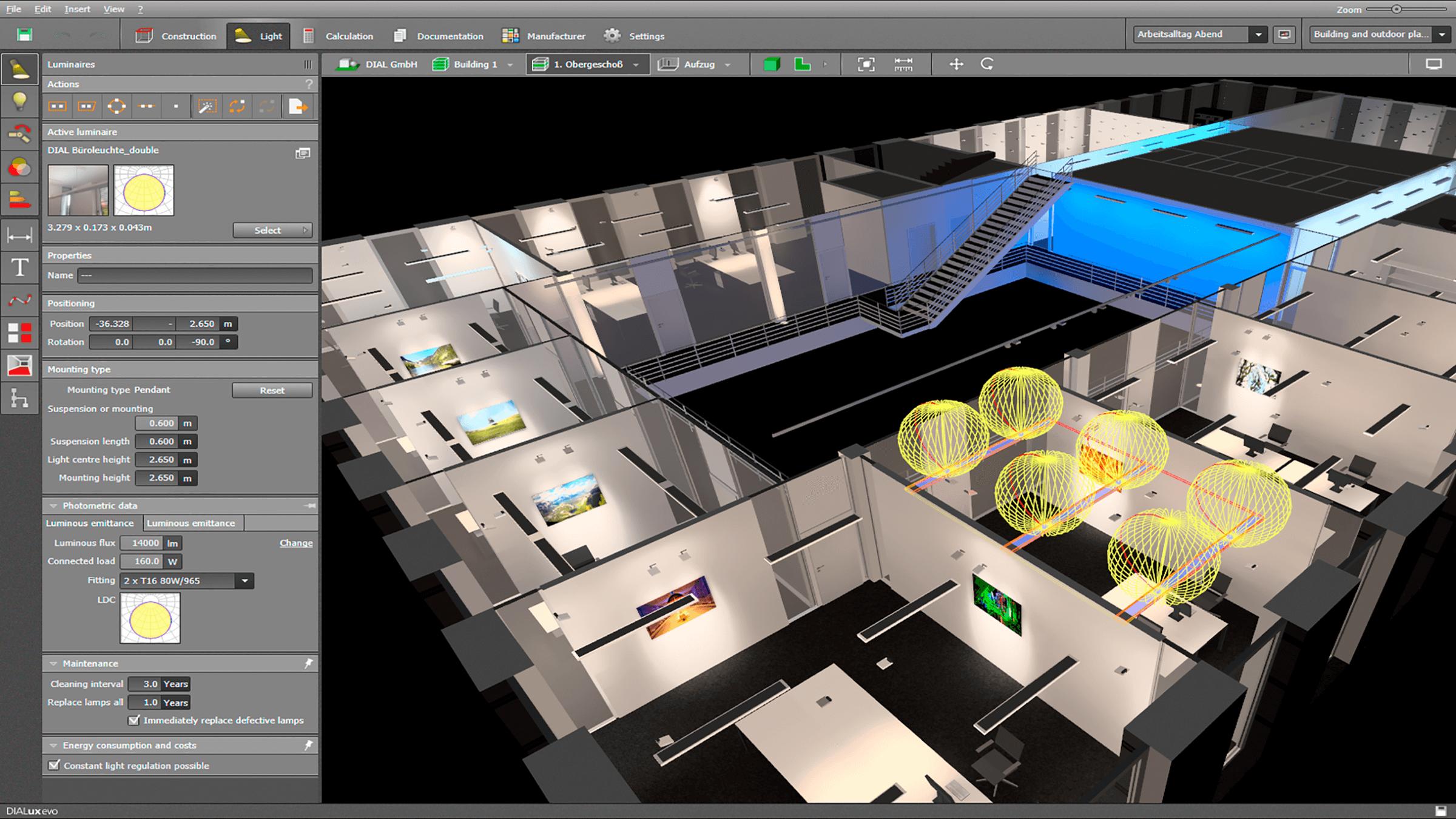 Progettazione illuminotecnica una soluzione per la for Software progettazione casa gratis
